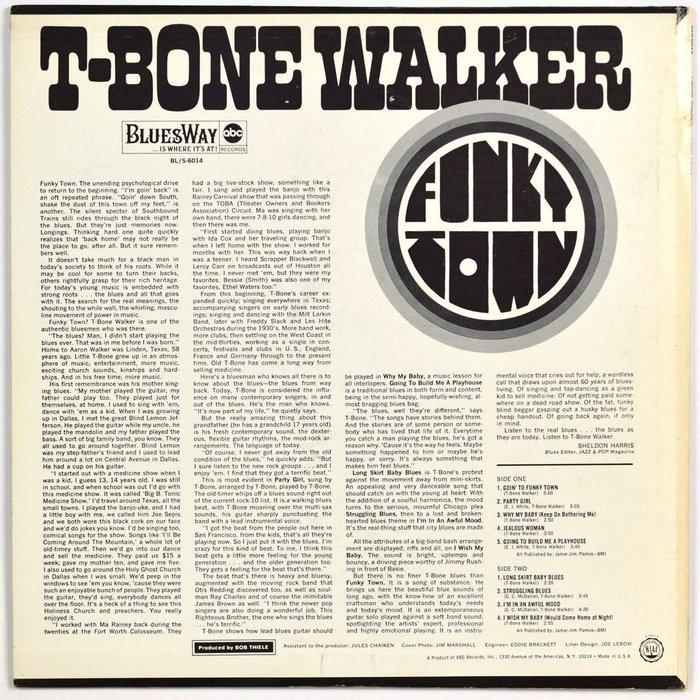 T-Bone Walker – Funky Town album art 2