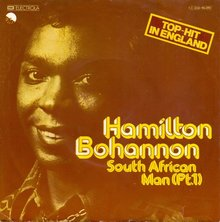 "Hamilton Bohannon – ""South African Man (Part 1)"" German single cover"