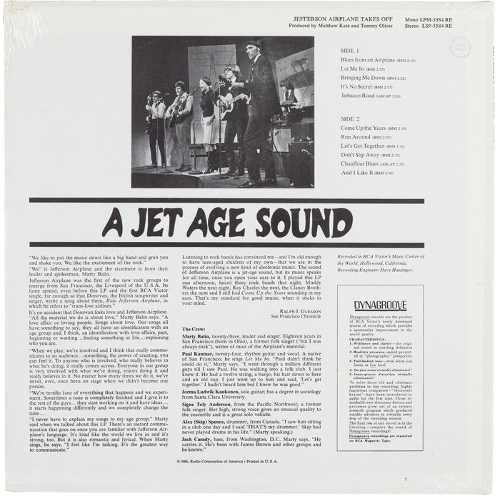 Jefferson Airplane Takes Off 2