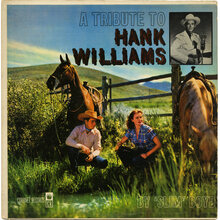 'Slim' Boyd – <cite>A Tribute To Hank Williams</cite> album art