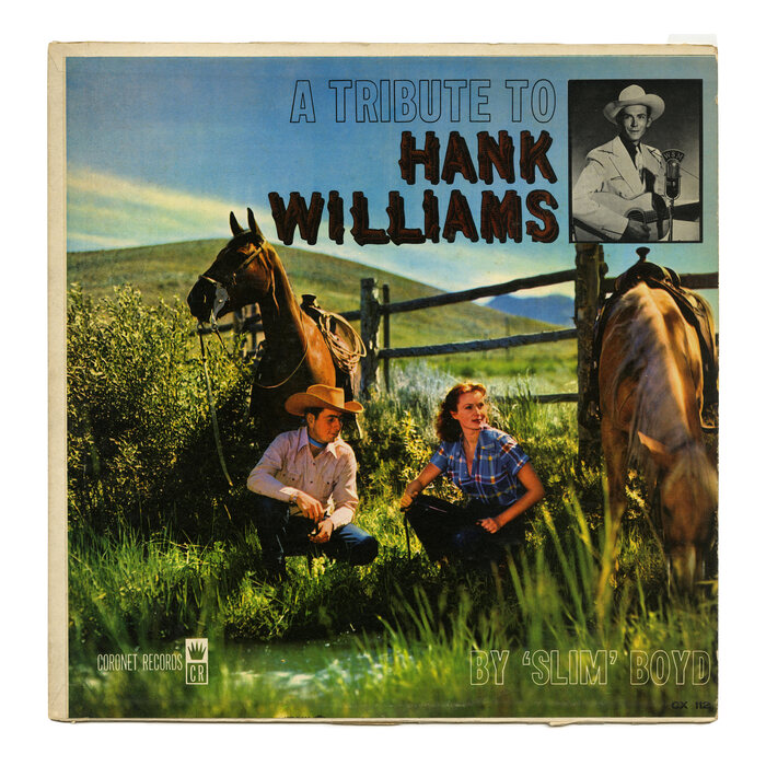'Slim' Boyd – A Tribute To Hank Williams album art
