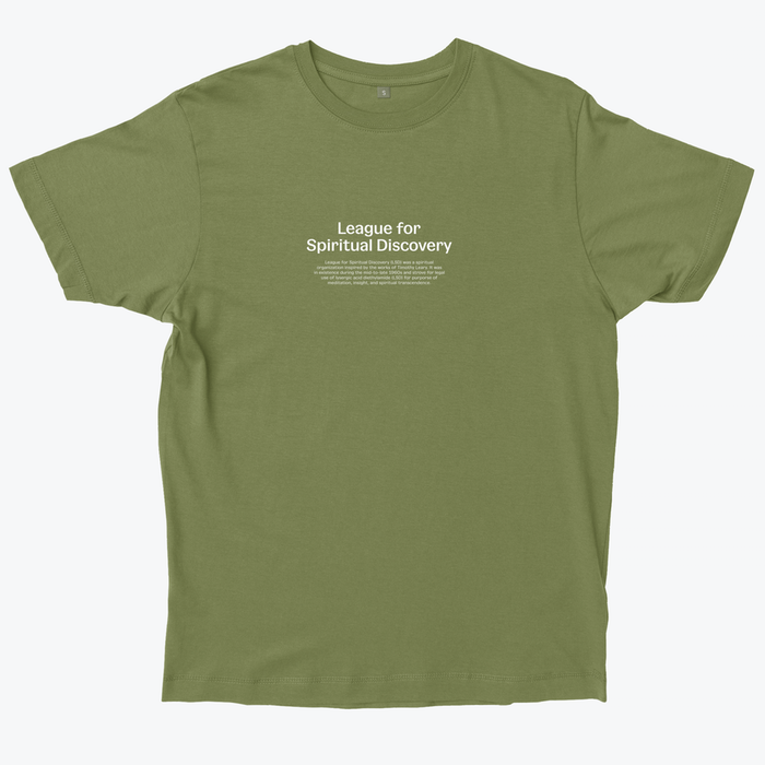 League for Spiritual Discovery T-shirt 1