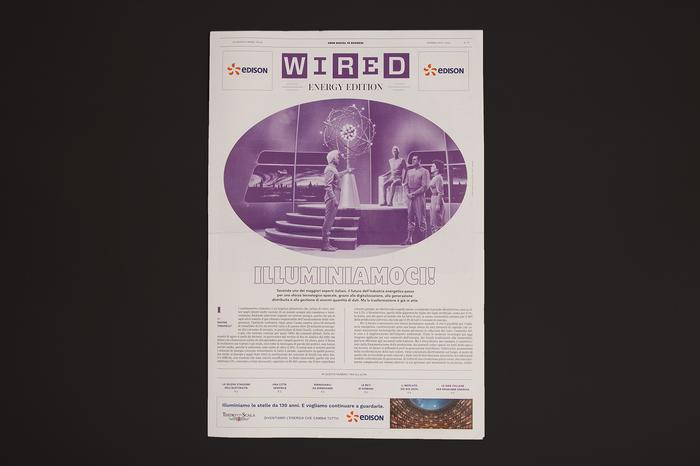 """Wired Italia, n. 91, """"Visioni 2020"""" 12"""