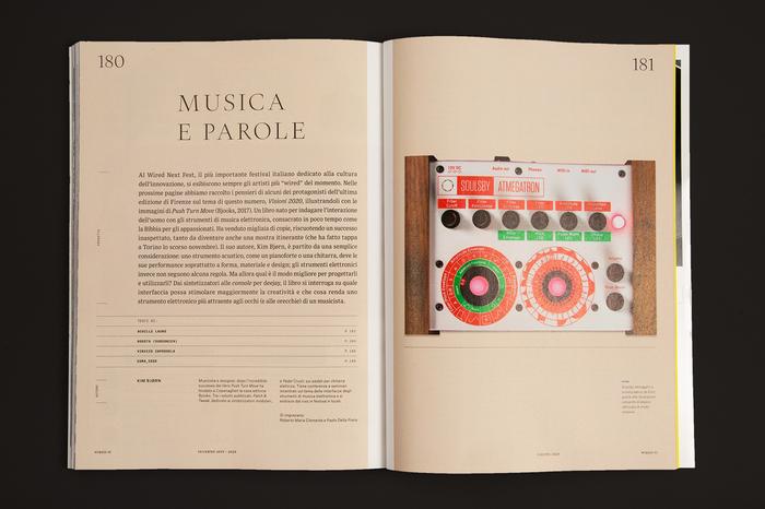 """Wired Italia, n. 91, """"Visioni 2020"""" 10"""