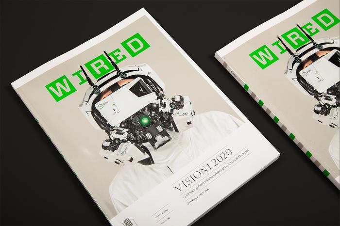 """Wired Italia, n. 91, """"Visioni 2020"""" 1"""