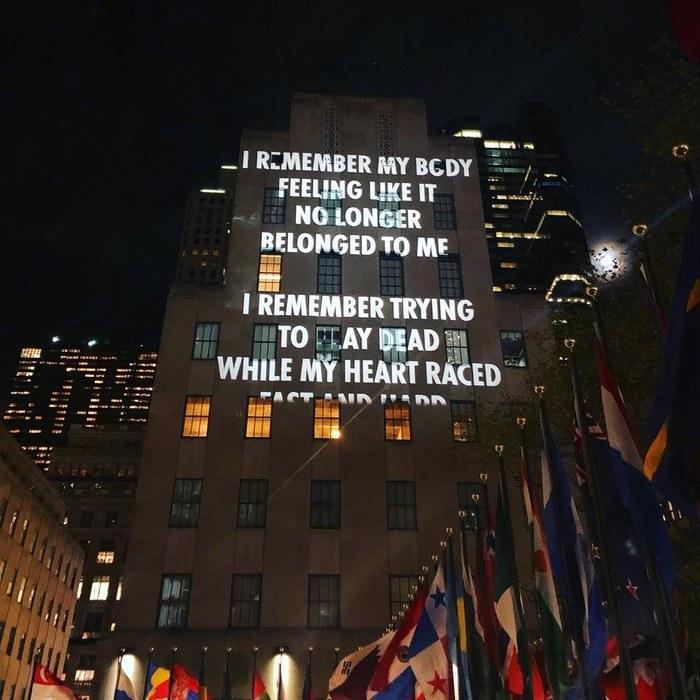 Vigil by Jenny Holzer 3