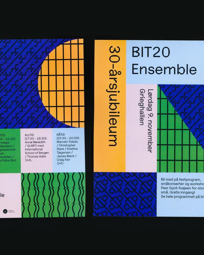 BIT20 Ensemble visual identity 3
