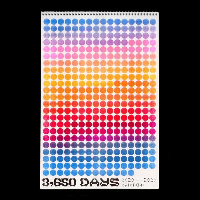 3,650 Days Calendar 3