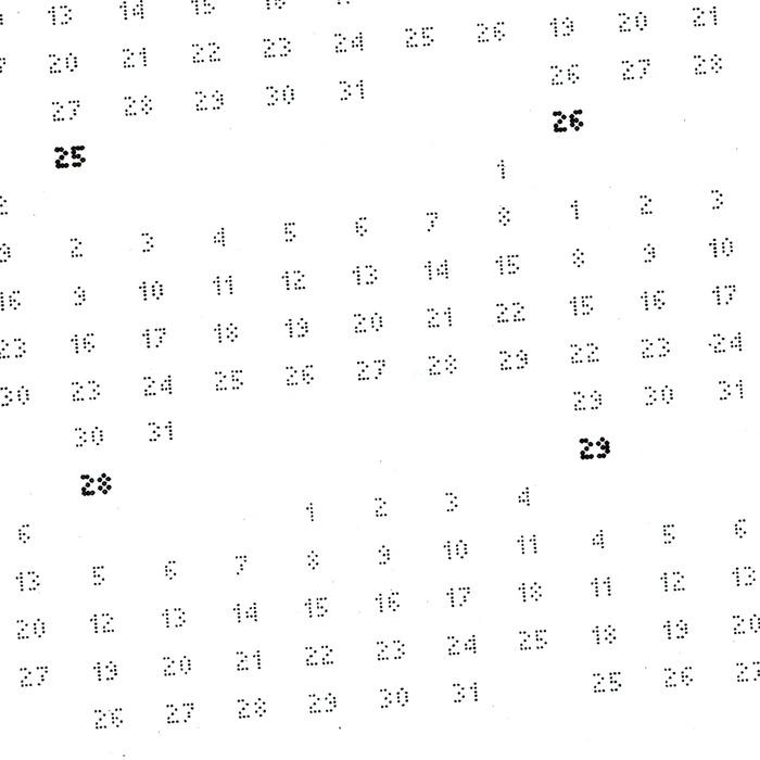 3,650 Days Calendar 2