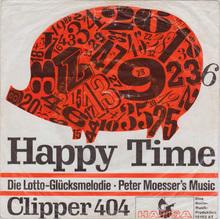 Peter Moesser's Music – <cite>Happy Time</cite> b/w <cite>Clipper 404</cite>