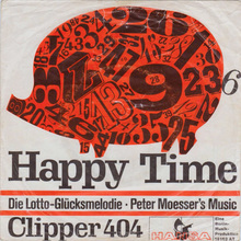 Peter Moesser's Music ‎– <cite>Happy Time</cite> b/w <cite>Clipper 404</cite>