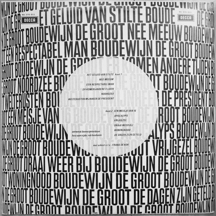 Boudewijn de Groot – Boudewijn de Groot album art 2