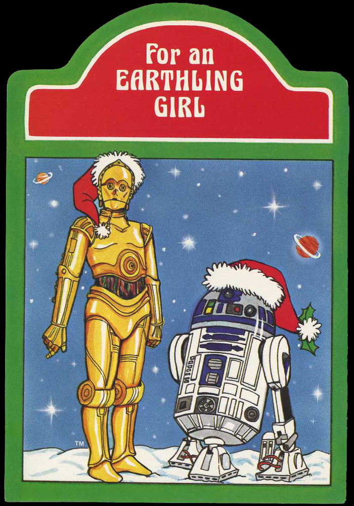 Star Wars Christmas cards (1977) 2
