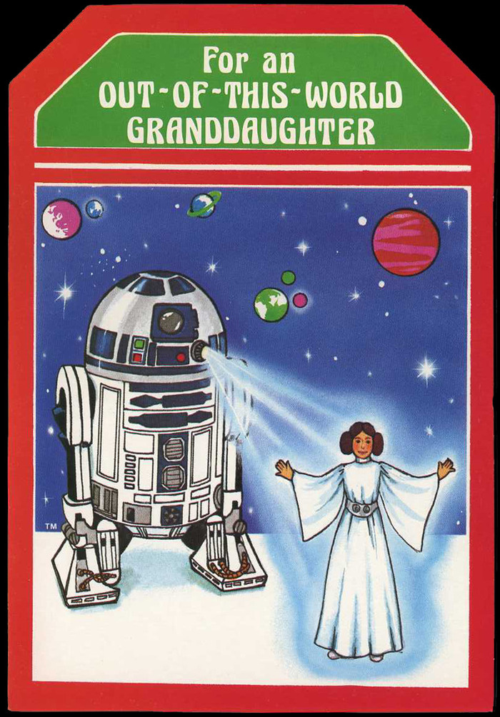 Star Wars Christmas cards (1977) 3
