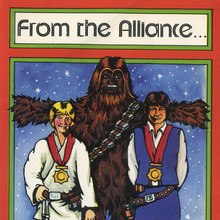 <span><cite>Star Wars</cite> Christmas cards (1977)</span>