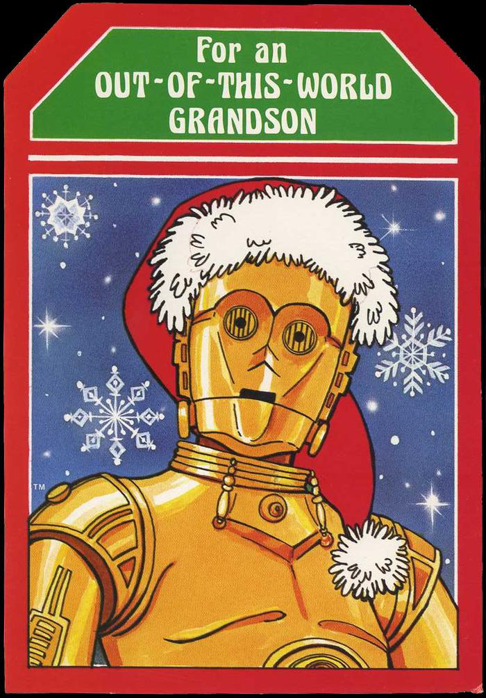 Star Wars Christmas cards (1977) 4