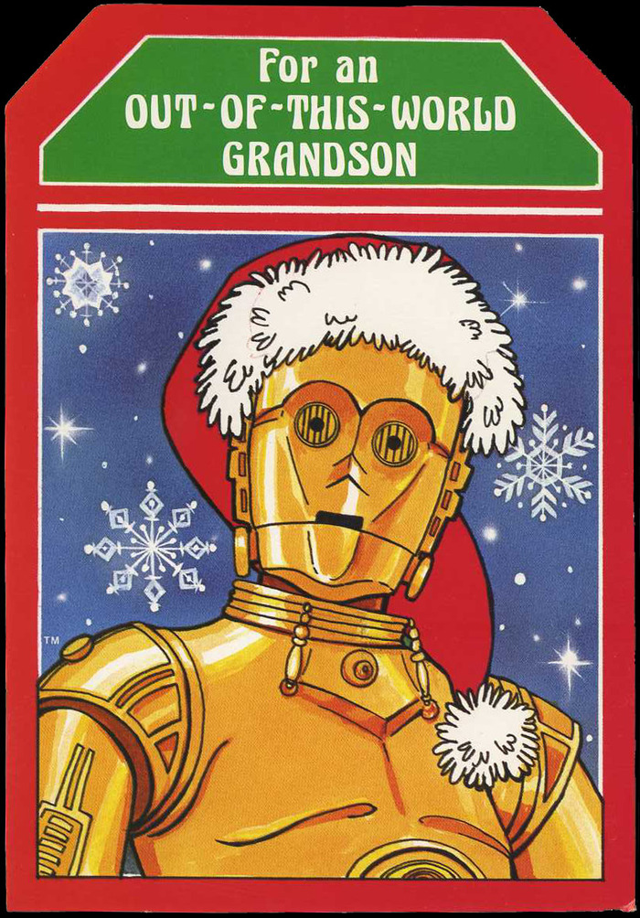 Star Wars Christmas cards (1977) 4
