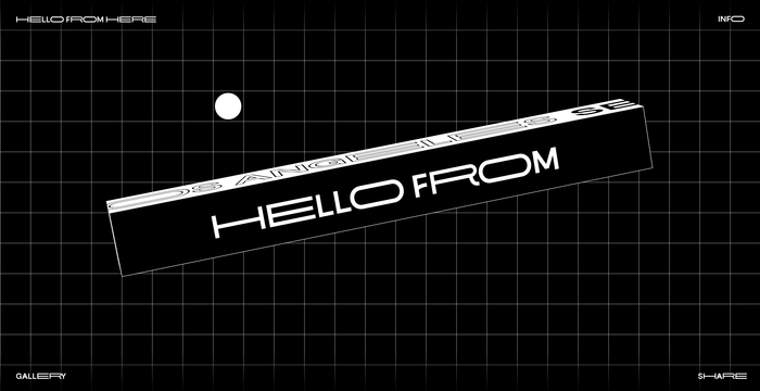 Hello from Here 1