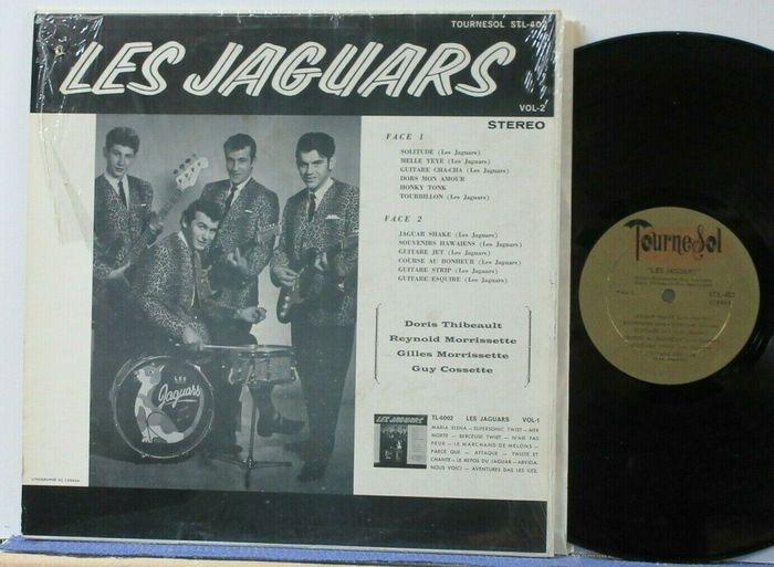 Les Jaguars – Vol. 2 album art 2