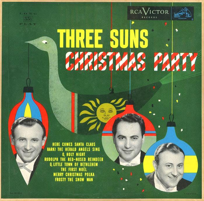 The Three Suns – Christmas Party album art