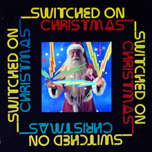 <cite>Switched On Christmas </cite>album art
