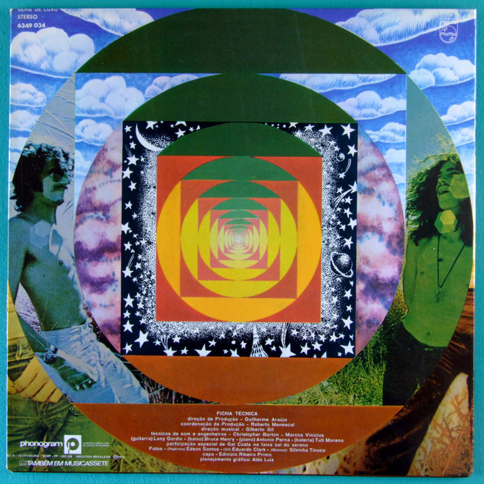 Gilberto Gil — Expresso 2222 album art 3