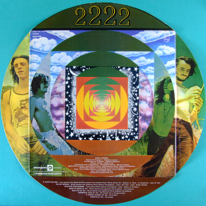 Gilberto Gil — Expresso 2222 album art 4