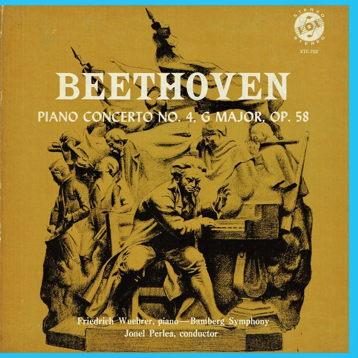 Friedrich Wührer, Bamberger Symphoniker – Beethoven: Piano Concerto No.4, GMajor, Op. 58 album art