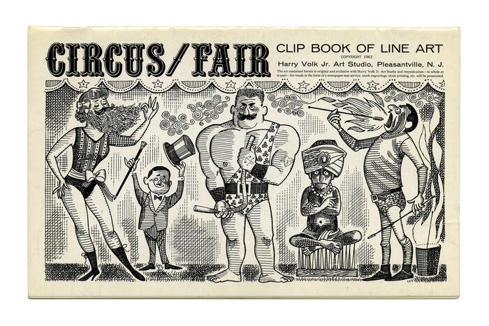 """""""Circus/Fair"""" (No. 362), ft. , Venus breit halbfett, , and ."""