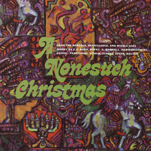<cite>A Nonesuch Christmas </cite>album art