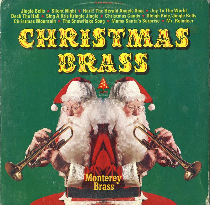 The Monterey Brass – Christmas Brass album art