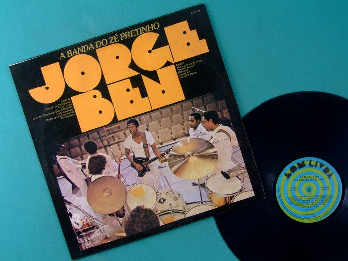 Jorge Ben – A Banda Do Zé Pretinho album art 2