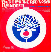 <cite>Rudolph The Red Nosed Reindeer</cite> by The Caroleers