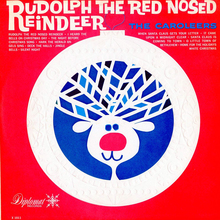 The Caroleers – <cite>Rudolph The Red Nosed Reindeer</cite> album art