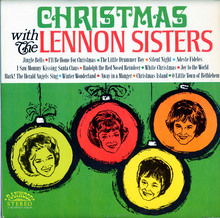 <cite>Christmas with The Lennon Sisters </cite>(Ranwood, 1968) album art