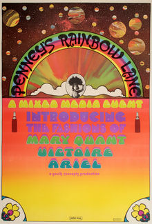 """Penney's Rainbow Lane"" poster"