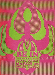 """Be In"" poster"