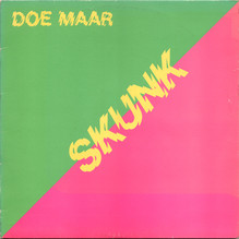 Doe Maar – <cite>Skunk</cite> album art