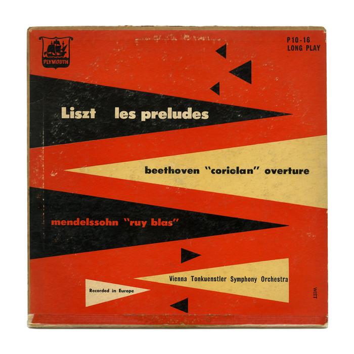 Vienna Tonkünstler Symphony Orchestra – Liszt /   Beethoven /   Mendelssohn album art