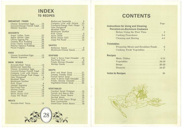 Recipes and Instructions, West Bend Laureleaf 2