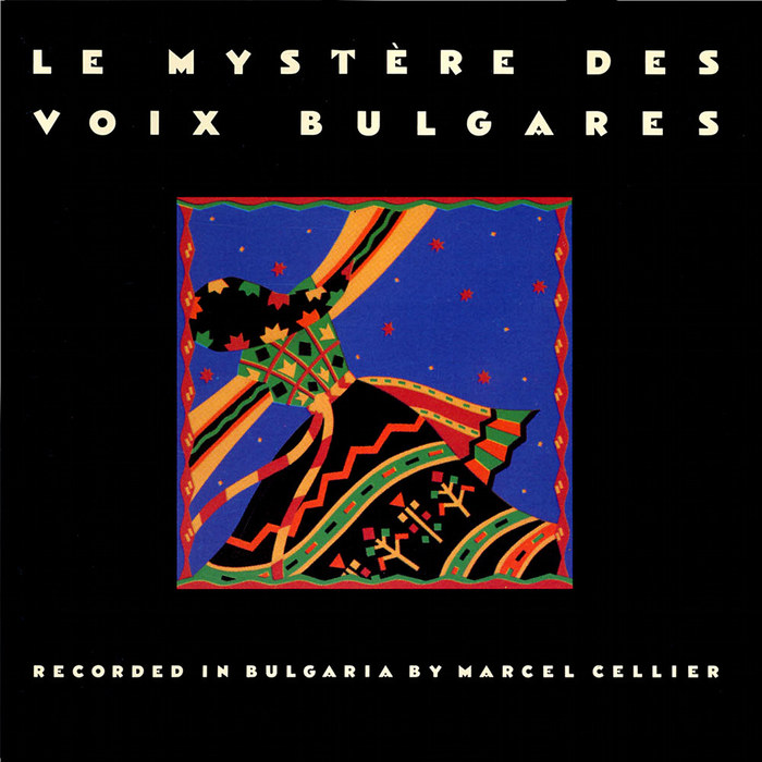 Le Mystère Des Voix Bulgares (Elektra Nonesuch) album art