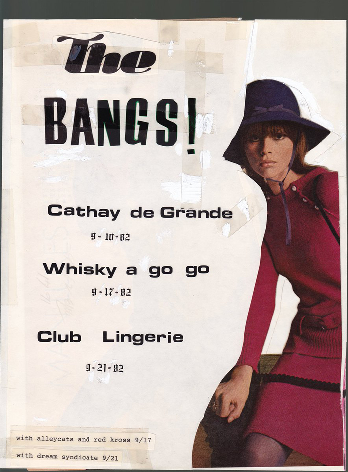 The Bangs flyer