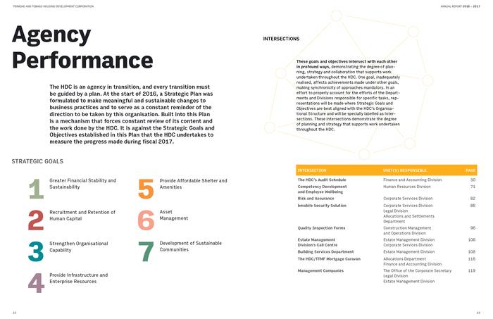 Trinidad & Tobago Housing Development Corporation Annual Report 2017 5