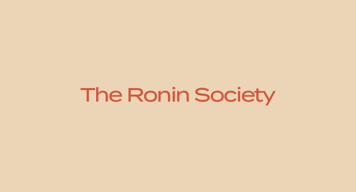 Ronin Society 1
