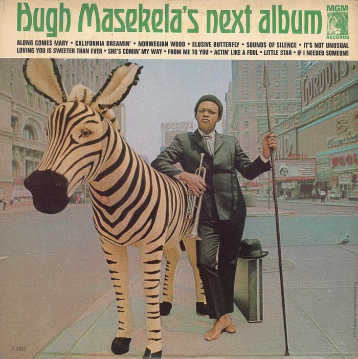 Hugh Masekela – Hugh Masekela's Next Album album art 1