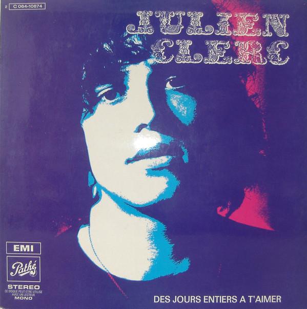 Des Jours Entiers À T'Aimer, second LP, Pathé, 1970. Photography by Jean-Marie Périer.