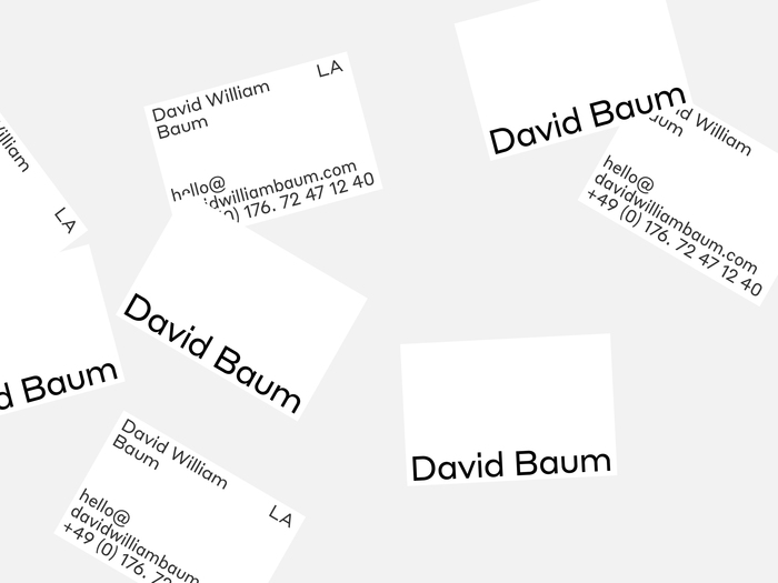 David William Baum 6