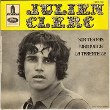 Julien Clerc logo and album art (1968–1970)
