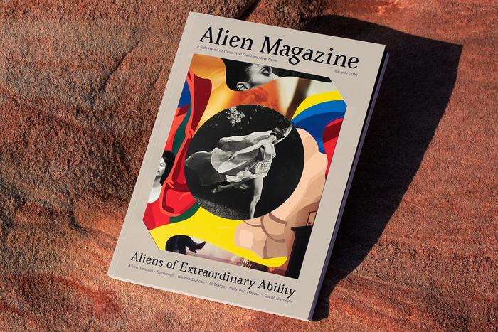"Alien Magazine, issue 01, 2019, ""Aliens of Extraordinary Ability"" 1"