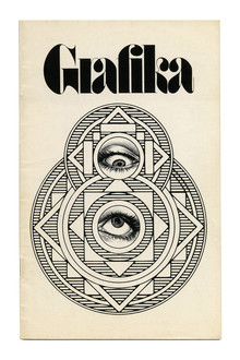 <cite>Grafika</cite> series, <cite>Clip Books of Line Art</cite>, Volk (1970–1972)